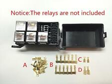 Car Auto Fuse Relay Box 6 Relay Holder Relay Socket 5 Road The Nacelle Insurance