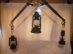 Garden Lighting Antique Indoor / Outside use,Hanging Kitchen rack.The old Traces