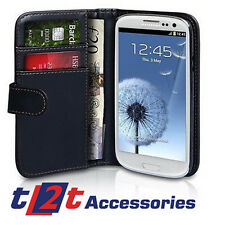 SAMSUNG GALAXY S4 PU BLACK FLIP  WALLET CASE WITH FREE SCREEN PROTECTOR