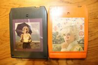 Lot 2 Tammy Wynette Country 8-tracks track Tested Works Women Singers