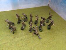 13 x 1/32 WW2 British Commandos Professionally Painted * Brand New *
