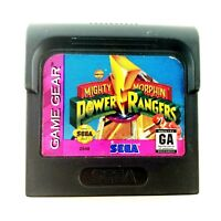 Mighty Morphin Power Rangers Sega Game Gear Cartridge Game Only