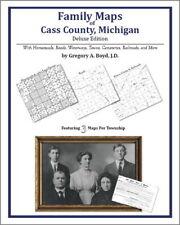 Family Maps Cass County Michigan Genealogy Plat History