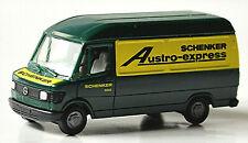 Mercedes Benz 207D T1 Kasten Hochdach 1977-95 Austro-Express Schenker 1:87 Herpa