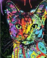 5D Diamond Painting Part Drill DIY Painted Cat Embroidery Cross Stitch Kit Decor
