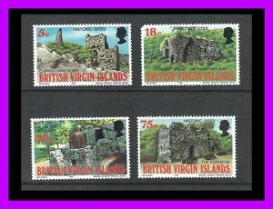 Virgin Islands: 1976 HISTORIC SITES full set MLH + used set