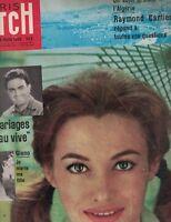 Paris Match March 28 1959 Guy Beart Pascale Audret Raymond Cartier