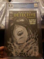 detective comics #825 2007 Cgc 9.8