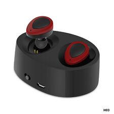 Mini TWS True Wireless Bluetooth Twins Stereo In-Ear Headset Earphone Earbuds