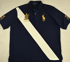 Polo Ralph Lauren Shirt Big Pony Crest Mesh LT Large L Tall NWT $125