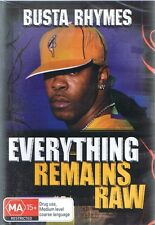 BUSTA RHYMES - Everything Remains Raw DVD - BRAND NEW & SEALED - Free Post