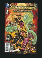 Sinestro #1, Variant Cover, High Grade