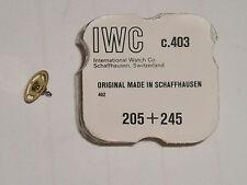 IWC 402 403 center wheel + cannon pinion 205 + 245