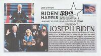 6° Cachets Joseph Biden 2021 Inauguration cover w official Biden Harris cancel