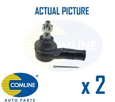 2 x NEW COMLINE FRONT OUTER TRACK ROD END RACK END PAIR OE QUALITY CTR3284