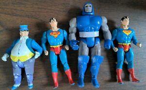 vintage Kenner DC SUPER POWERS 1984 LOT x4 Superman Darkseid Penguin Figure