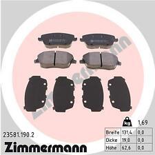 ZIMMERMANN Front Brake Pads 23581.190.2 fits VW POLO 9N_ Mk4 1.8 GTI