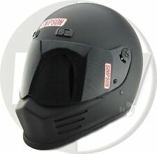 SIMPSON STREET BANDIT CASCO SNELL M2010 NEGRO MATE M Mediano 58cm 7 1/4