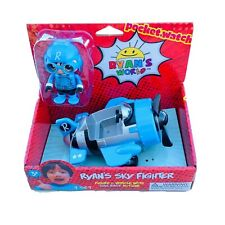 Ryan's World Vehicle SKY FIGHTER With Figure - Pull Back Action