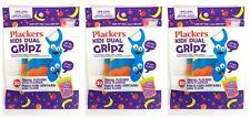 3~ Plackers Kids Dual Gripz Dental Flossers Fruit Smoothie Flavor 30 Count Floss