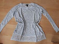 Neu H&M Sommer Leo oversize Pullover S.M,38.36.Pulli,vokuhila Shirt.long.röhre