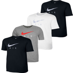 Mens Nike T Shirt TShirt T-Shirt Crew Top NSW Air Short Sleeve Tee Shirts Size