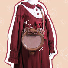 Bear Brown Transparent Shoulder bag Handbag ita Bag Kawaii Lolita Sweet Girl bag
