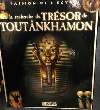 À LA RECHERCHE DU TRÉSOR DE TOUTÂNKHAMON Ed atlas