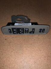 02 03 04 05 Envoy Rainier Bravada Master Power Window Switch w Heated Seats OEM