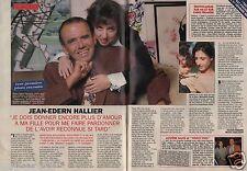 Coupure de presse Clipping 1996 Jean Edern Hallier (2 pages)