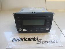 VOLKSWAGEN GOLF PLUS 2.0 DIESEL 5P 6M 103KW (2005) RICAMBIO RADIO AUTORADIO CON