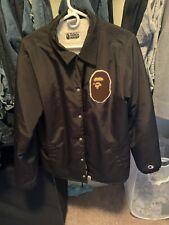 Bape x Champion Coach Jacket Size large. 100% authentic Worn, normal wear.