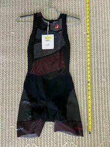 Castelli Cycling Free Women's Triathlon ITU Suit - Multicolor Black