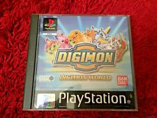 DIGIMON WORLD** SONY PS1 GAME** BOXED COMPLETE WITH MANUAL** UK PAL