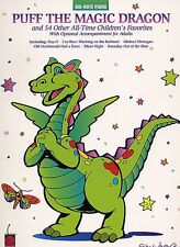 PUFF THE MAGIC DRAGON CHILDREN'S BIG NOTE EASY PIANO SHEET MUSIC SONG BOOK