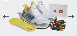 Adidas Ultra Boost X Lego DNA Shoes 9.5 Size - Limited Edition !!!