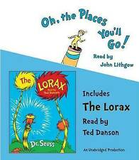 Oh, the Places You'll Go!/The Lorax by Dr Seuss (CD-Audio, 2008)