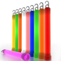 Outdoor Survival Signal Light Up Glow Sticks Festival Party Favors Neon;