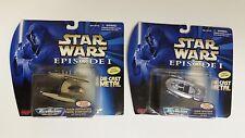 Star Wars 1998 Galoob Gian Speeder & Droid Starfighter - Micro Machines Diecast