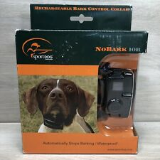 SPORTDOG NoBark Bark Control Collar Rechargeable Waterproof SBC-10R