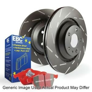EBC S4KF1493 Front S4 Kits Redstuff & USR Rotor For 2003-2007 Toyota Sequoia NEW