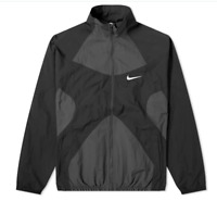 Mens Nike NSW Sportswear Re-Issue Retro Woven Track Jacket Black - Small S 90's