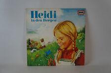Hörspiel: Heidi in den Bergen, Europa Records 115 038.3 Vinyl (21)