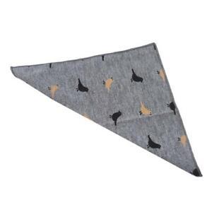 Pocket Towel Square Towel Suit Birds Decoration Cotton Handkerchief CH