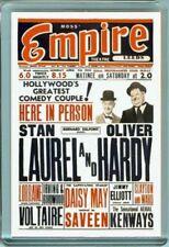 Laurel & and Hardy LEEDS EMPIRE BOX OFFICE CARD JUMBO Fridge / Locker Magnet