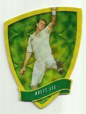 2009/10 Select Cricket Australia DIE CUT FDC13 BRETT LEE TEST TEAM CARD ACB