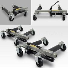 2 Stück PKW Rangierhilfe Rangierheber hydraulisch Wagenheber Auto Rangierroller