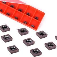 10pcs CCMT060204 Carbide Inserts Blades for Lathe Turning Tool Boring Bar Holder