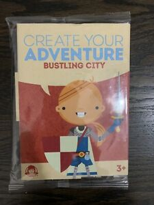 """Wendy's Kid's Meal Toy Create Your Adventure """"Bustling City"""""""