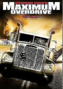 Maximum Overdrive DVD Stephen King New and Sealed Plays Worldwide NTSC 0